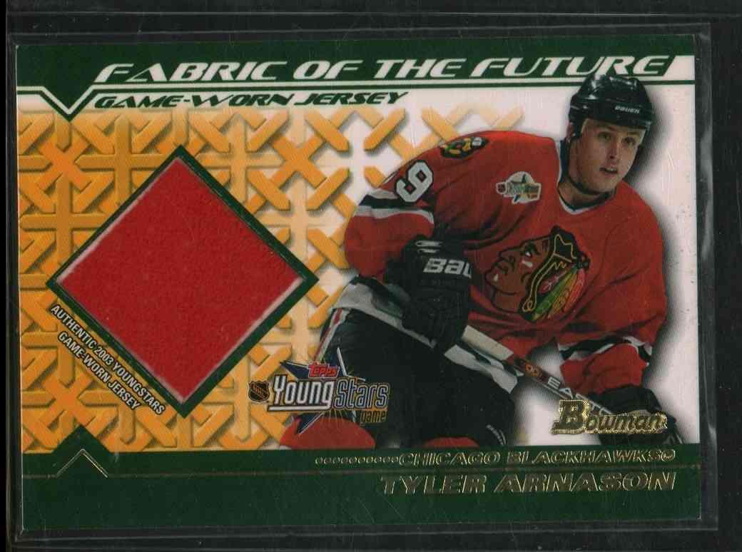 2002-03 Topps Young Star Tyler Arnason #FFJ-TA card front image