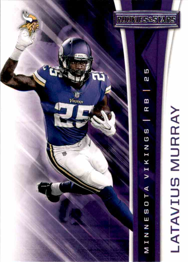2017 Rookies And Stars Latavius Murray #38 card front image