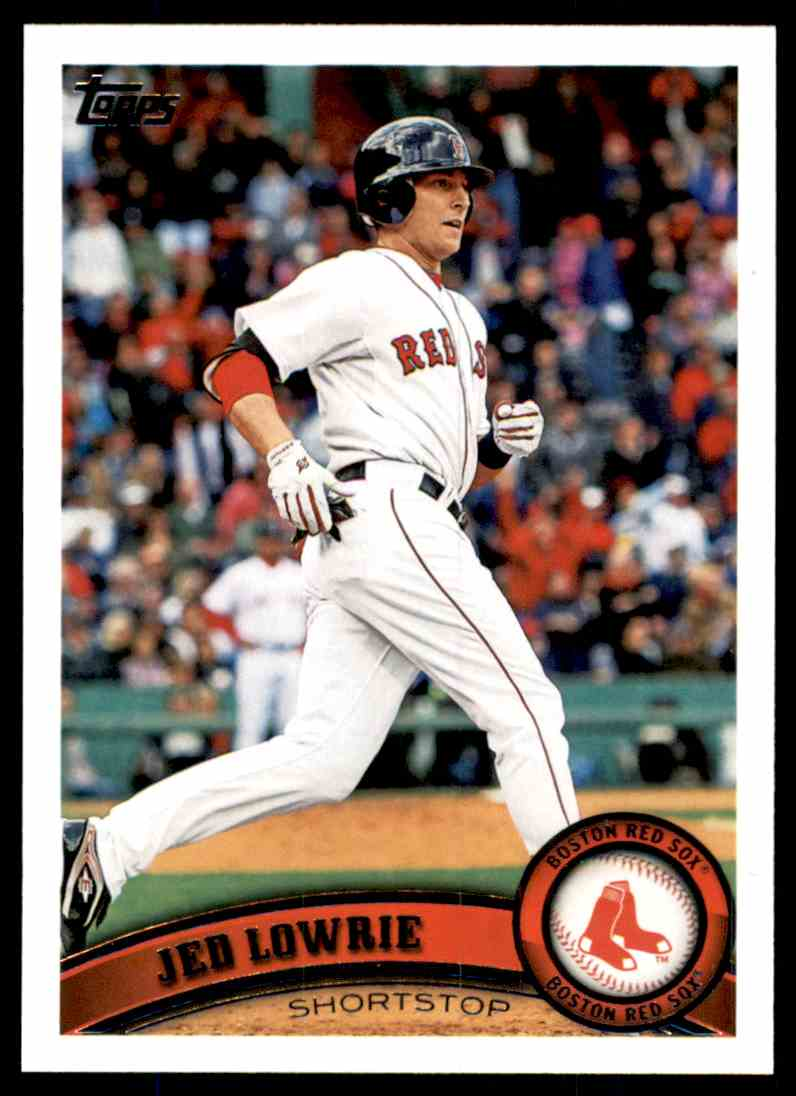 2011 Topps Jed Lowrie #576 card front image