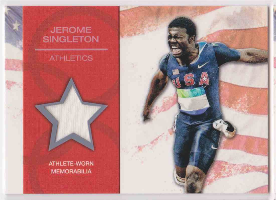 2012 Topps U.S. Olympic Team Relic Jerome Singleton #OR-JS card front image