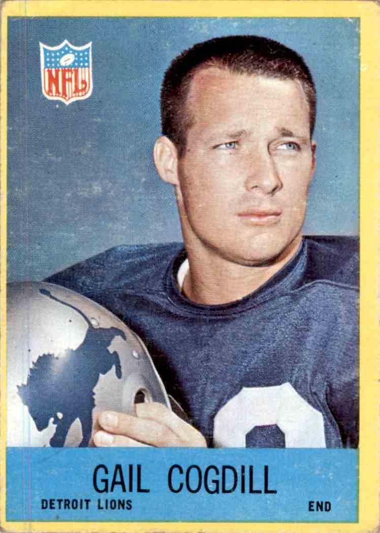 1967 Philadelphia Gail Cogdill #63 card front image