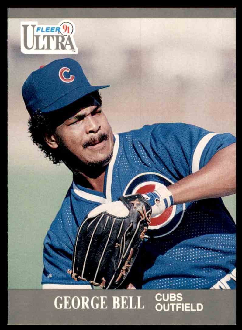 1991 Ultra George Bell #55 card front image