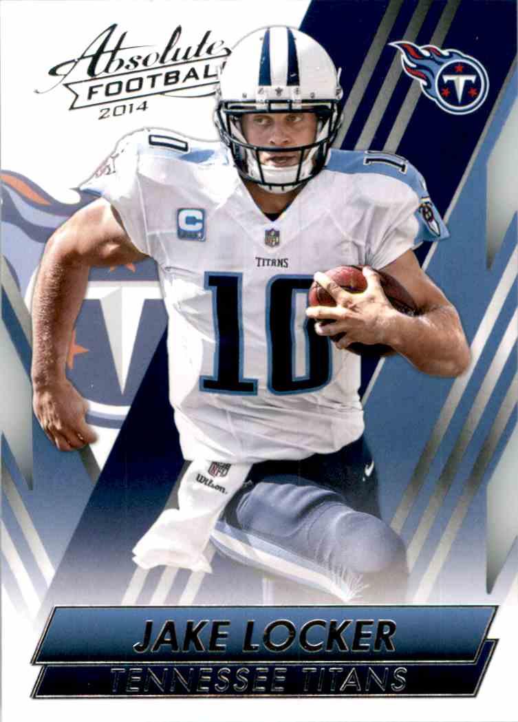 2014 Absolute Retail Jake Locker #63 card front image