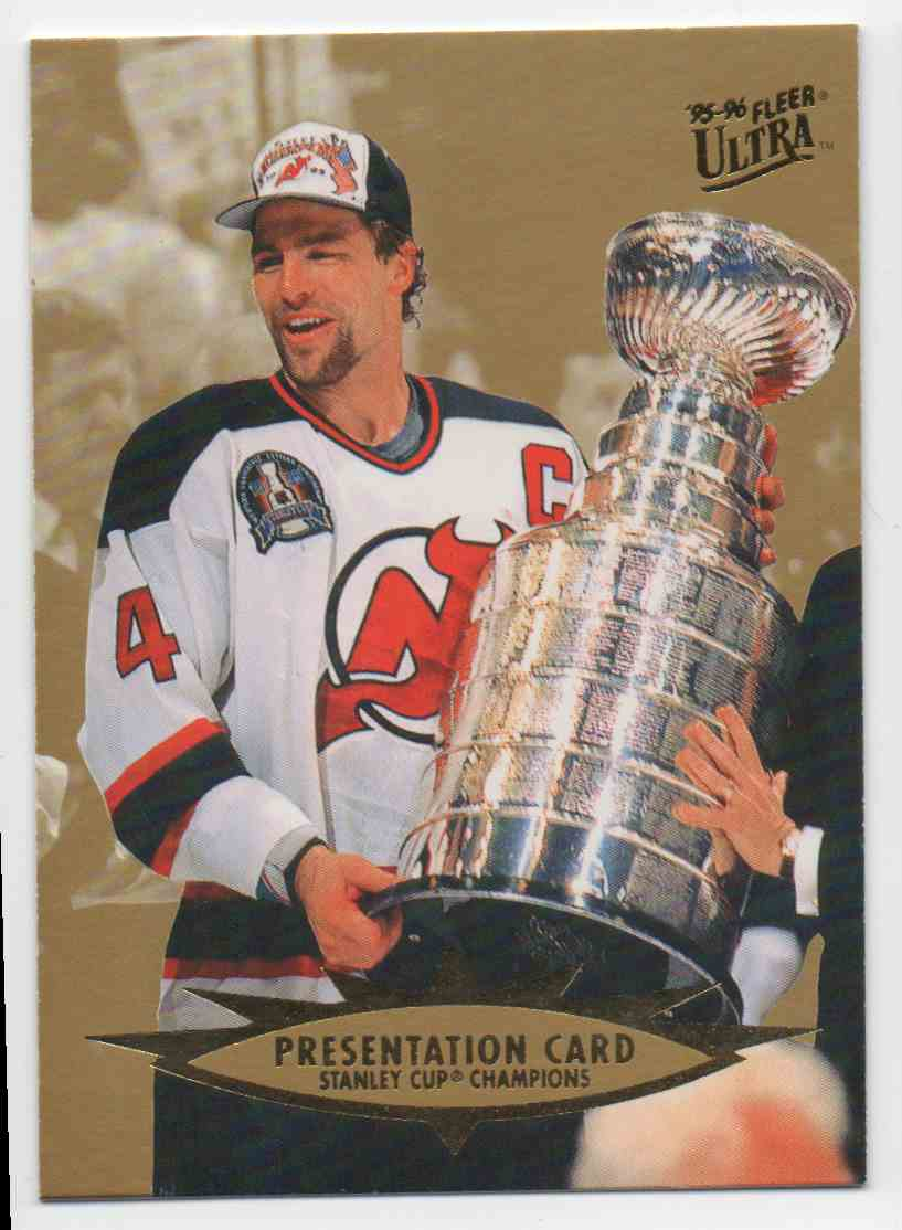 1995-96 Ultra Stanley Cup Presentation #197 card front image