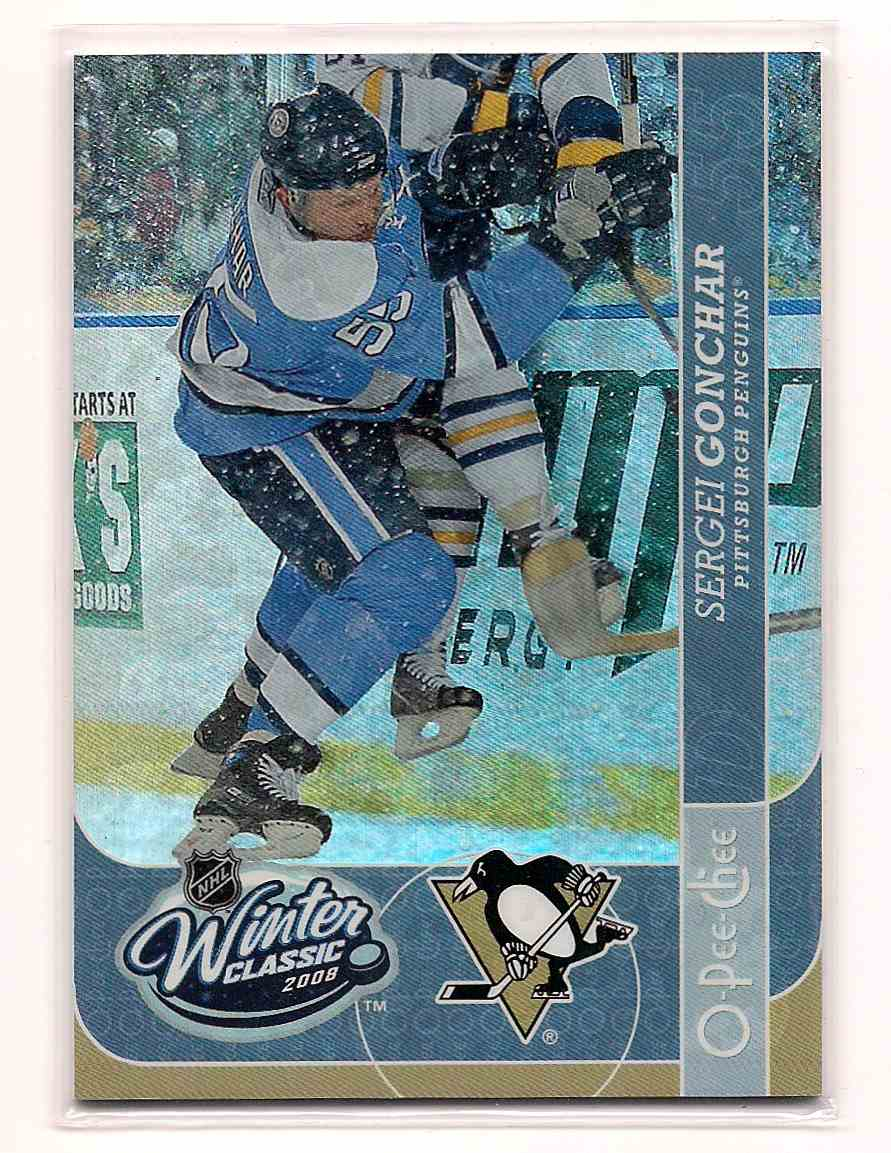 2008-09 O-Pee-Chee Winter Classic Sergei Gonchar #WC14 card front image