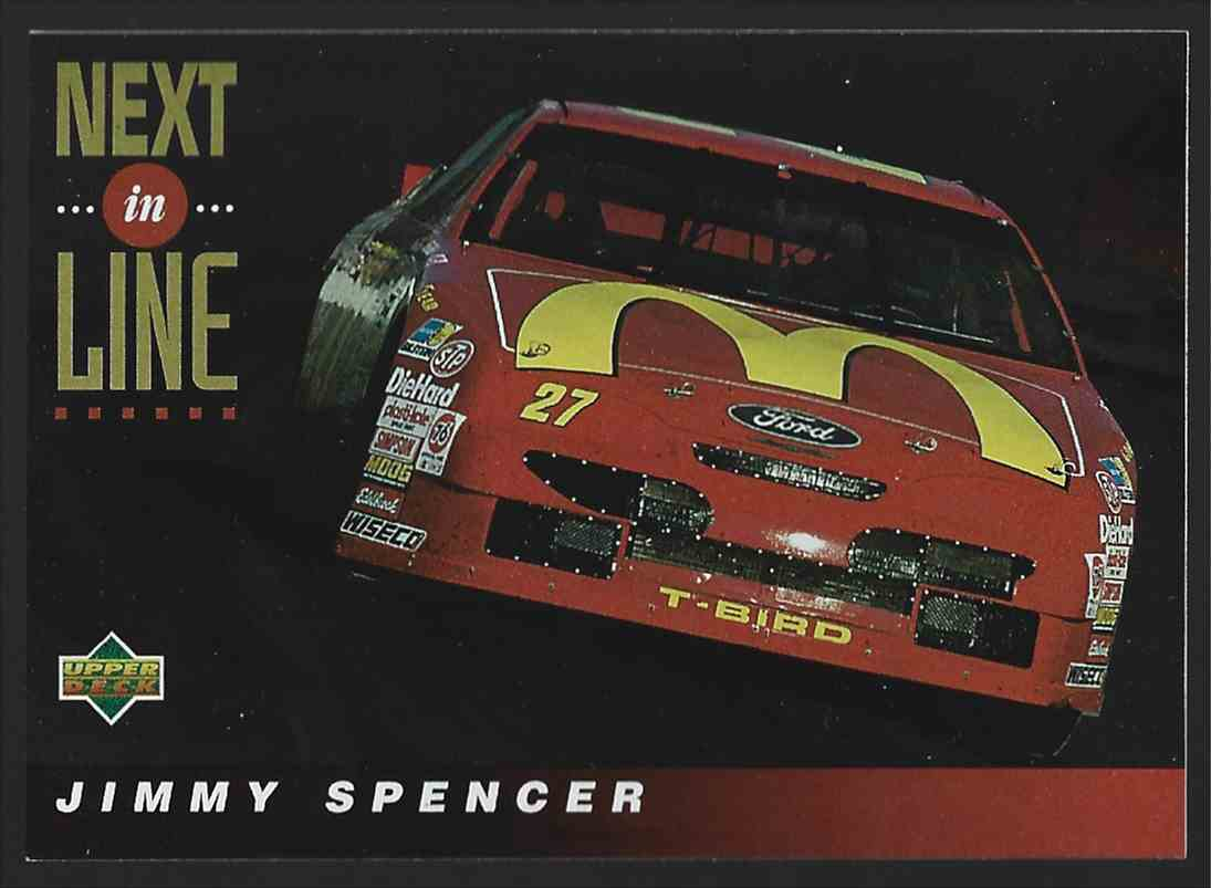 1994 Upper Deck Jimmy Spencer #123 card front image