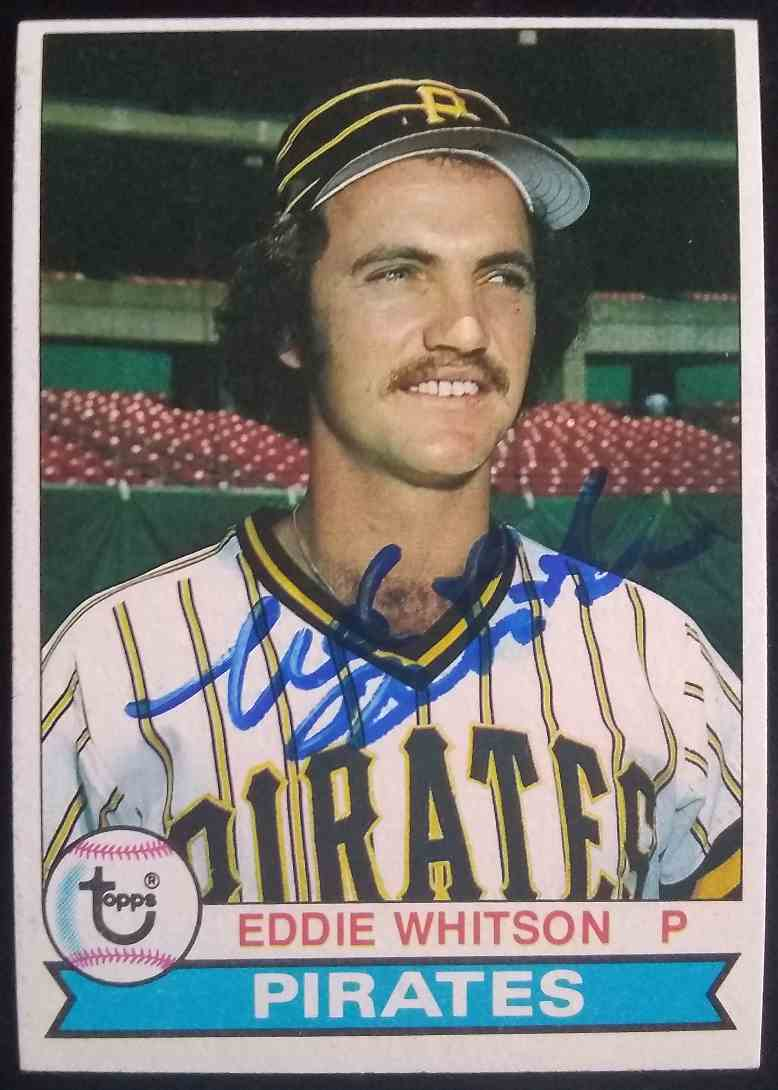 1979 Topps Eddie Whitson #185 card front image
