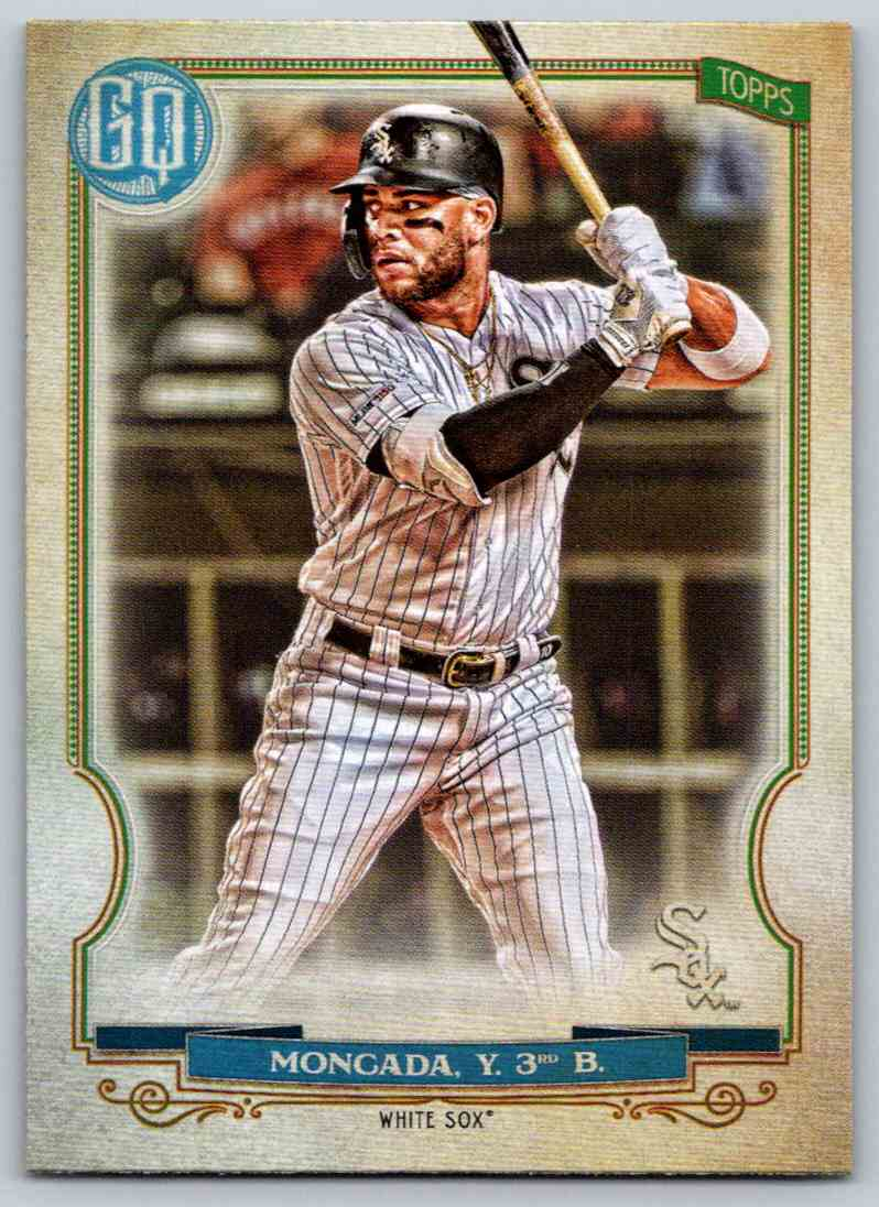 2020 Topps Gypsy Queen Base Yoan Moncada #132 card front image