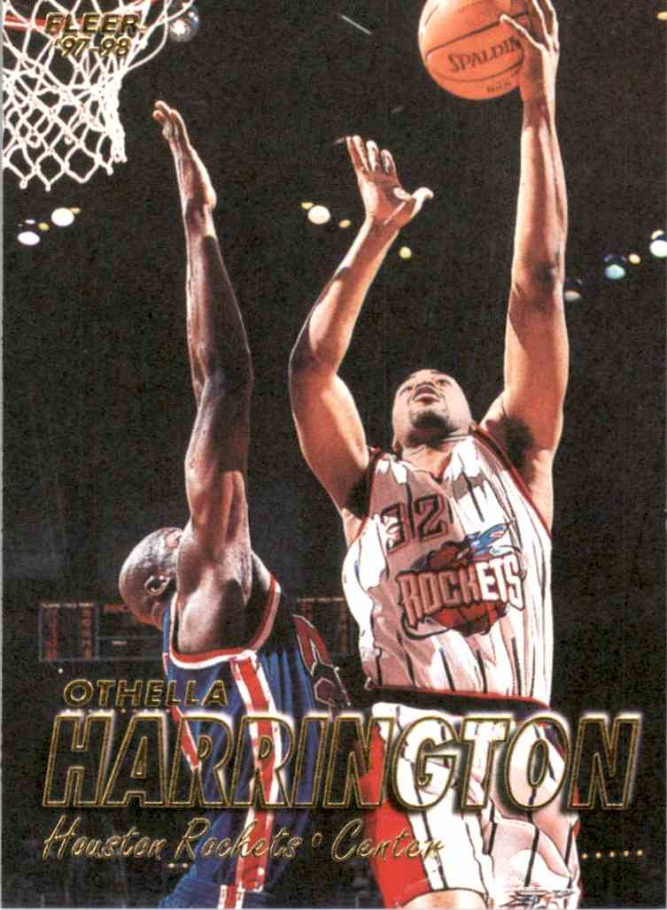 1997-98 Fleer Othella Harrington #134 card front image
