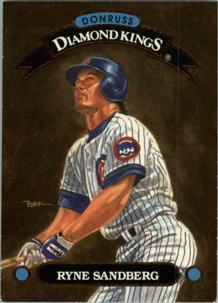 1992 Donruss Ryne Sandberg #DK2 card front image