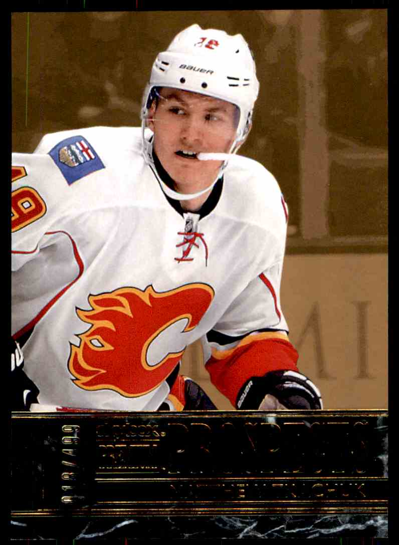 2016-17 Fleer Showcase SkyBox Premium Prospects Matthew Tkachuk #S3 card front image