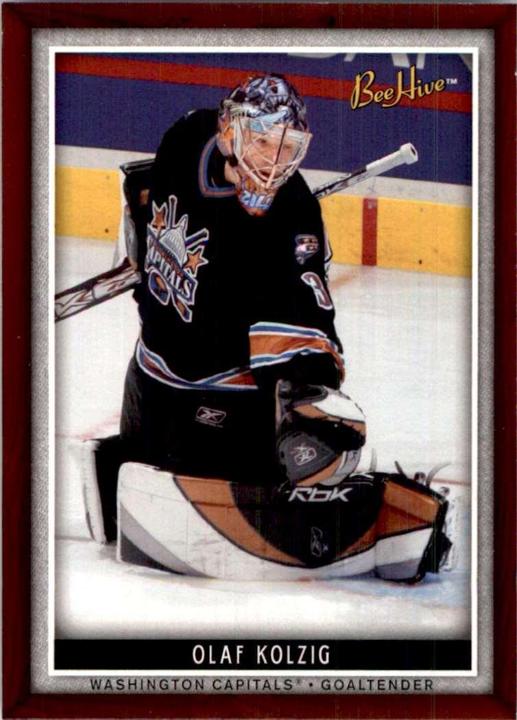 2006-07 Upper Deck Beehive Olaf Kolzig #2 card front image