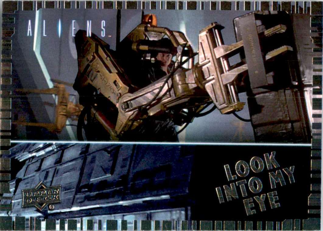2018 Aliens Look Into My Eye Aterpillar P5000 Work Loader #EEH4 card front image