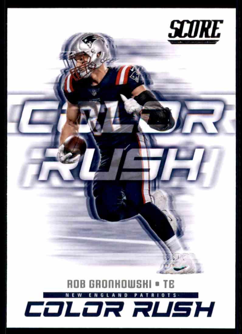 promo code 6f297 4f7ca 2018 Score Color Rush Rob Gronkowski #16 on Kronozio