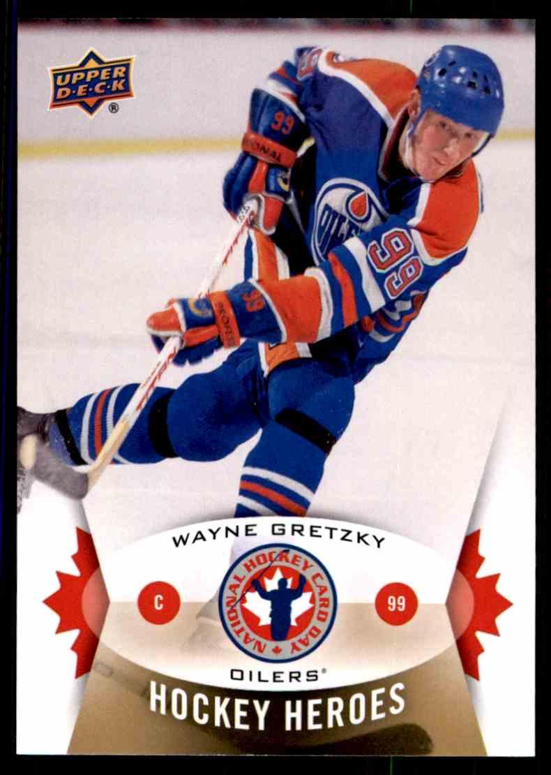 2014-15 Upper Deck National Hockey Card Day Canada Wayne Gretzky #NHCD-15 card front image