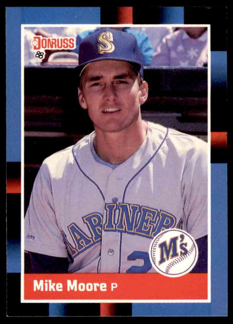 1988 Donruss Baseball Mike Moore 75 On Kronozio