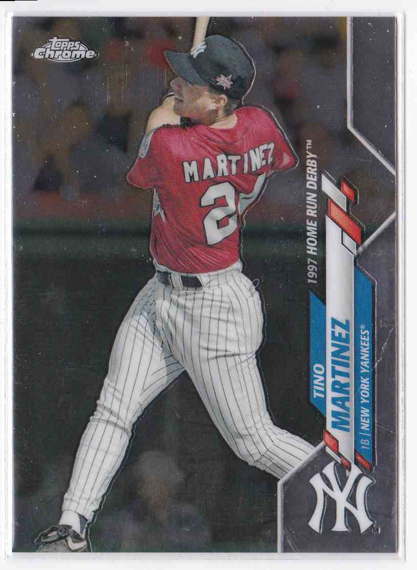 2020 Topps Chrome Update Home Run Derby Tino Martinez #U-88 card front image