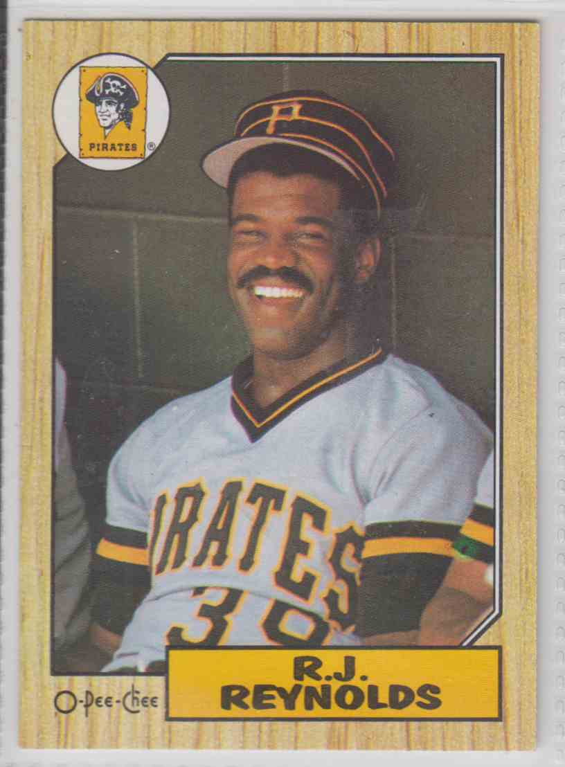 1987 O-Pee-Chee R.J. Reynolds #109 card front image