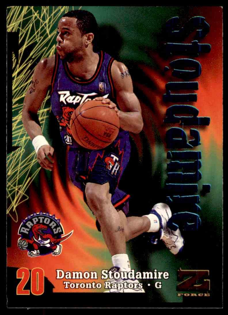 1997-98 Skybox Z Force Damon Stoudamire #121 card front image