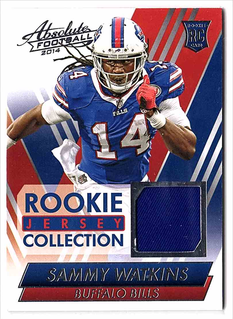 2014 Absolute Rookie Jersey Collection Sammy Watkins #RJSW card front image