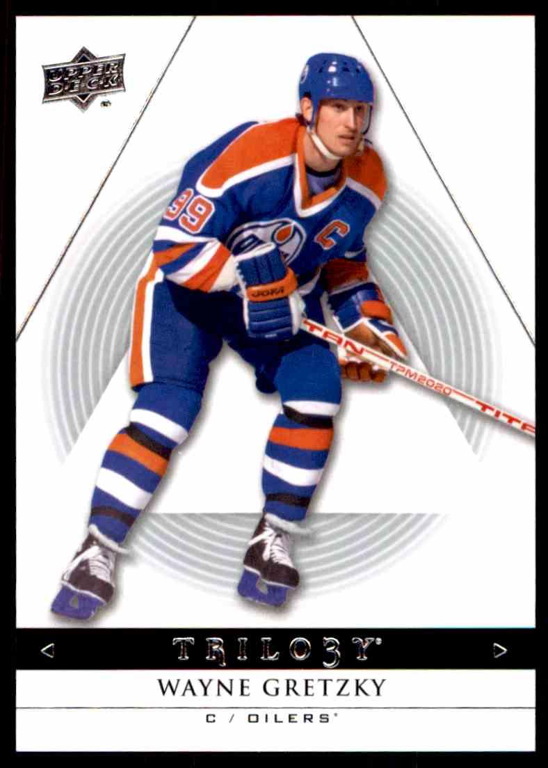 2013-14 Upper Deck Trilogy Wayne Gretzky #43 card front image