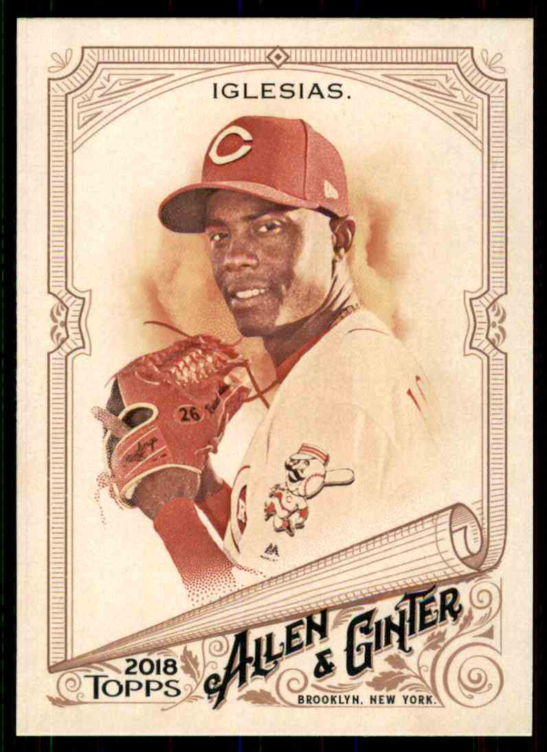2018 Topps Allen & Ginter Raisel Iglesias #154 card front image