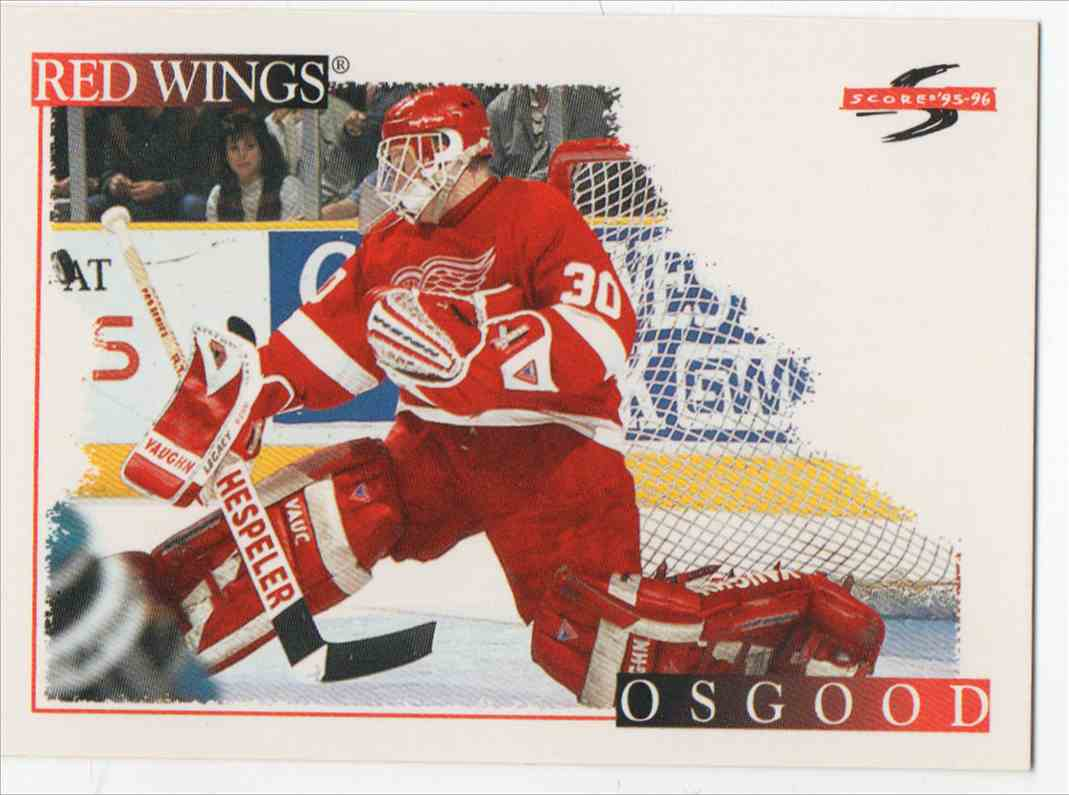 1995-96 Score Chris Osgood #202 card front image