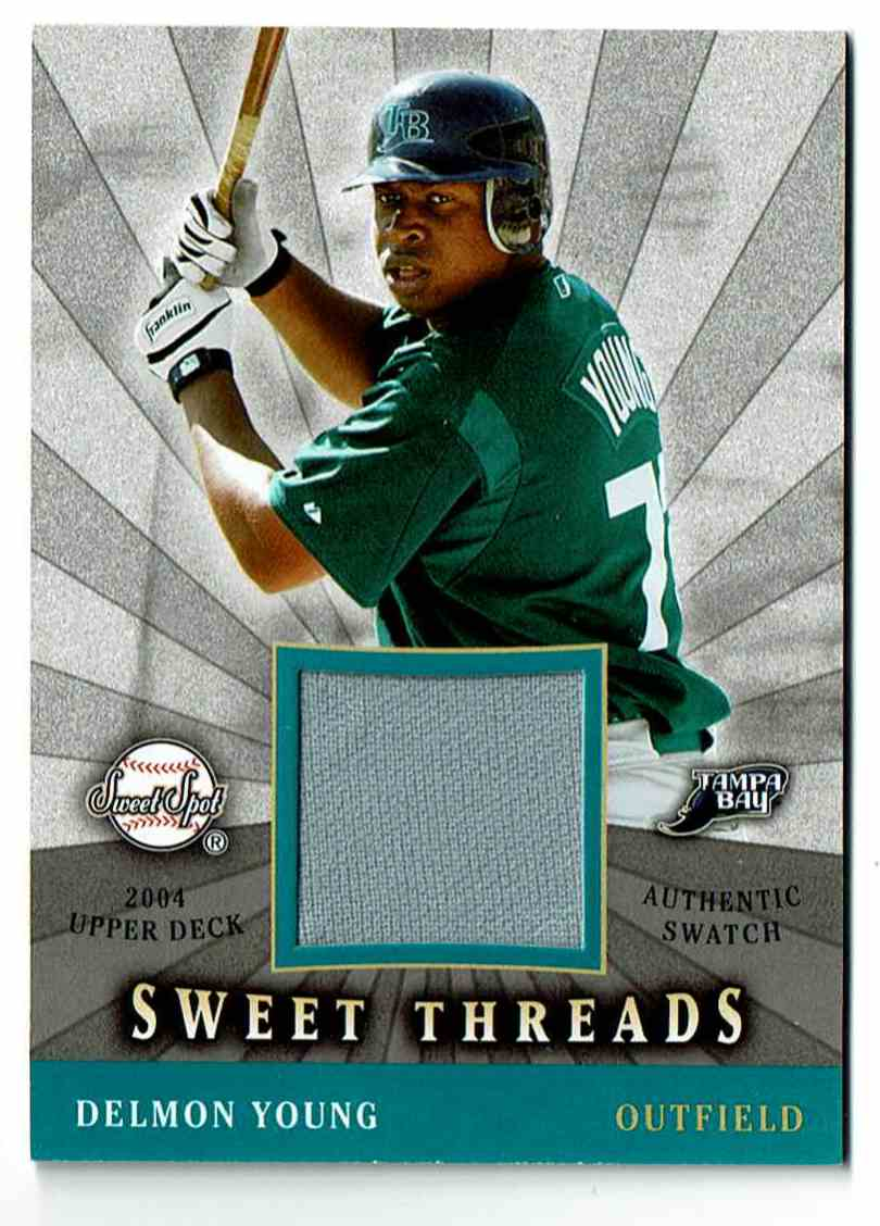 2004 Upper Deck Sweet Spot Delmon Young #DY card front image