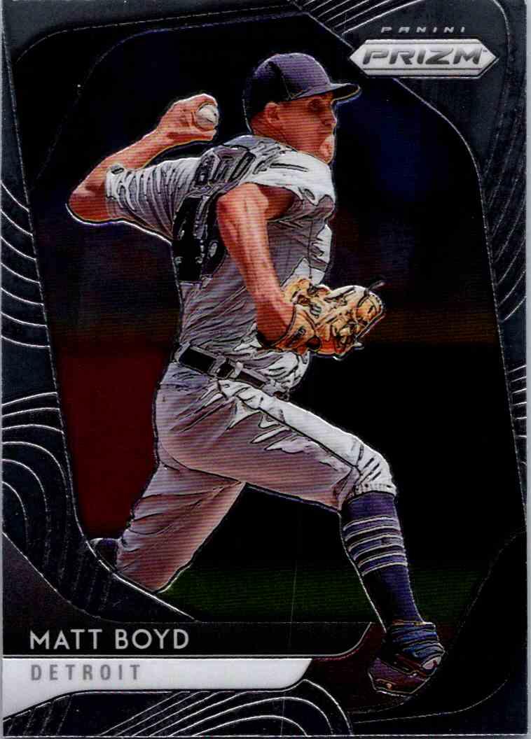 2020 Panini Prizm MLB Matt Boyd #199 card front image