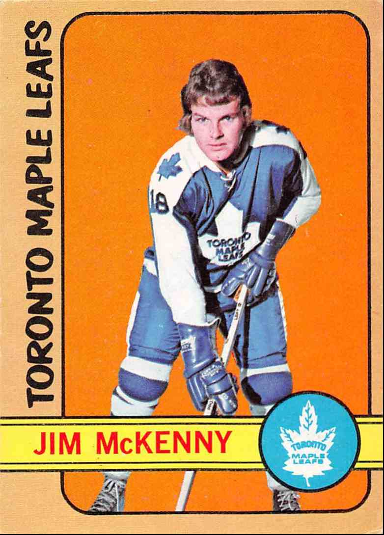 1972-73 O-Pee-Chee Jim McKenny #83 card front image