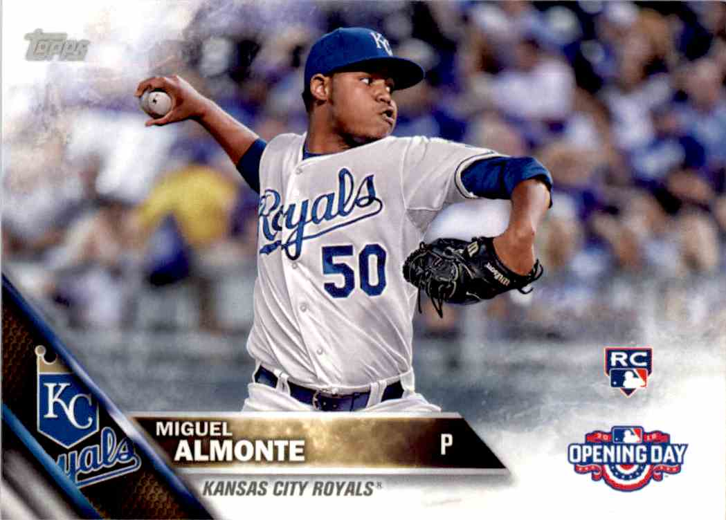 2016 Topps Opening Day Miguel Almonte #OD-142 card front image