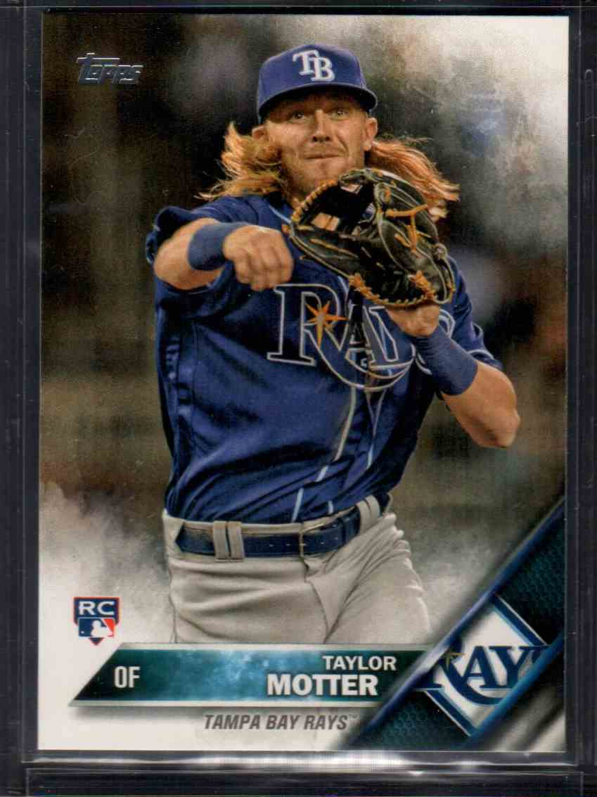 2016 Topps Update Taylor Motter #US151 card front image