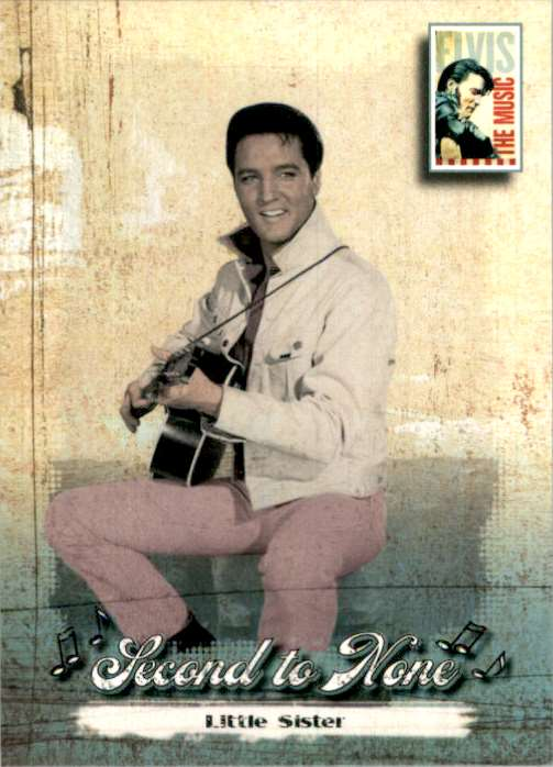 2007 Elvis The Music Little Sister #39 card front image