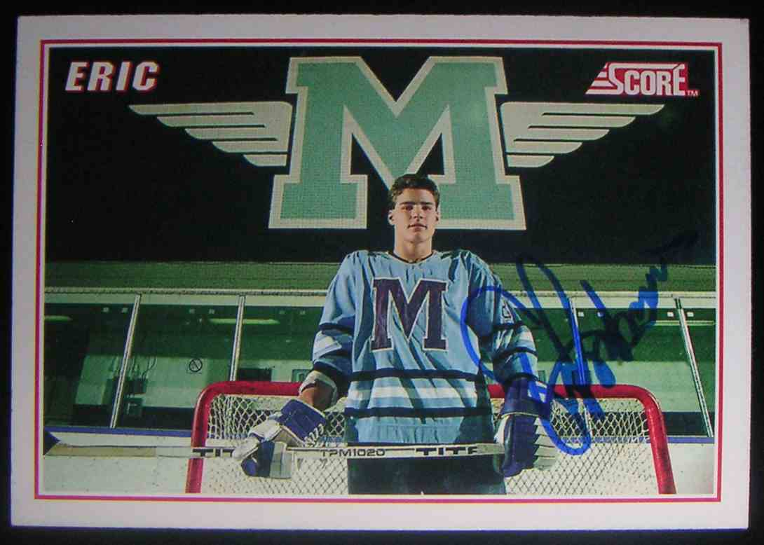 1990-91 Score Eric Lindros #B1 card front image