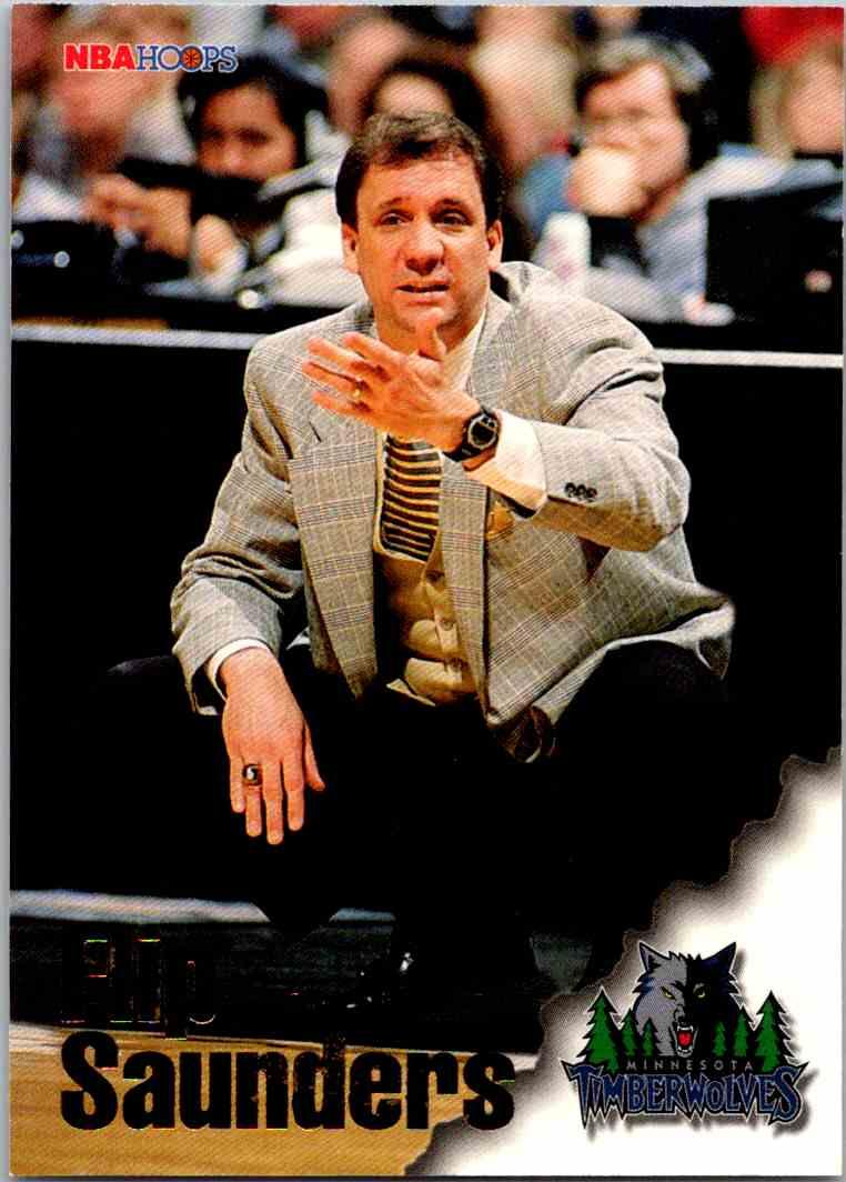 1997-98 NBA Hoops Flip Saunders #264 card front image