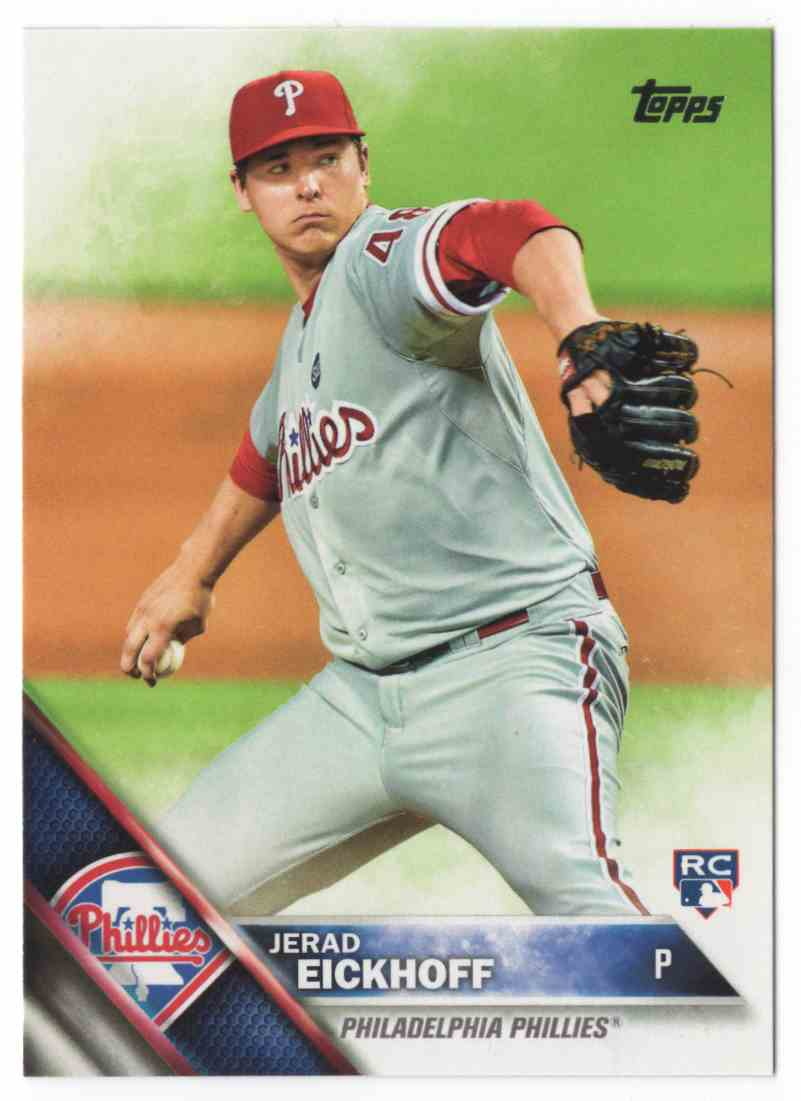 2016 Topps Jerad Eickhoff #2 card front image