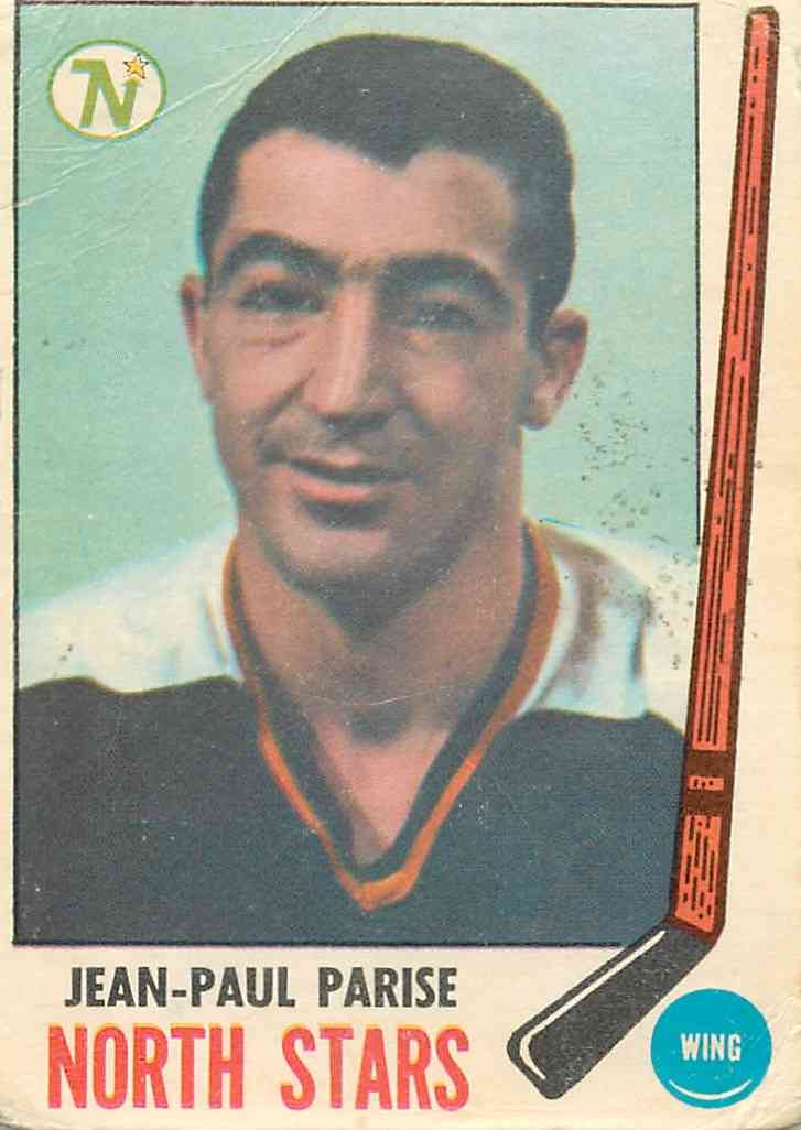 1969-70 Topps Jean-Paul Parise #127 card front image