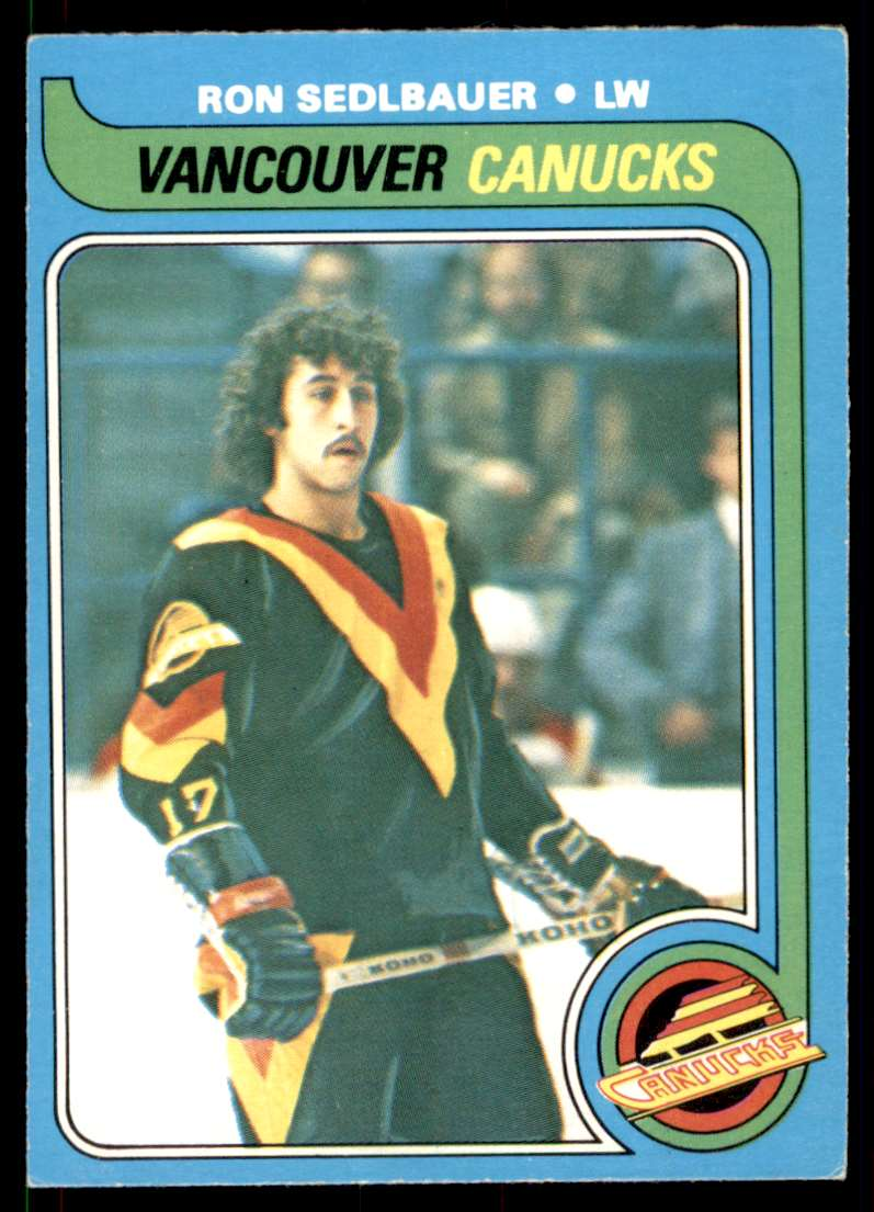 1979-80 O-Pee-Chee Ron Sedlbauer #19 card front image