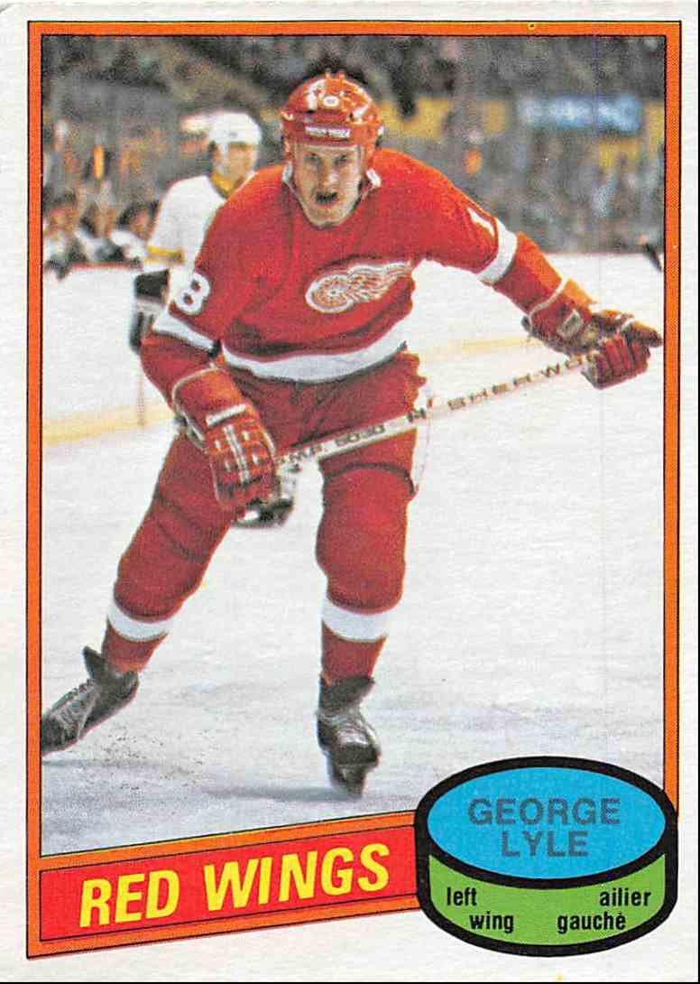1980-81 O-Pee-Chee George Lyle #379 card front image