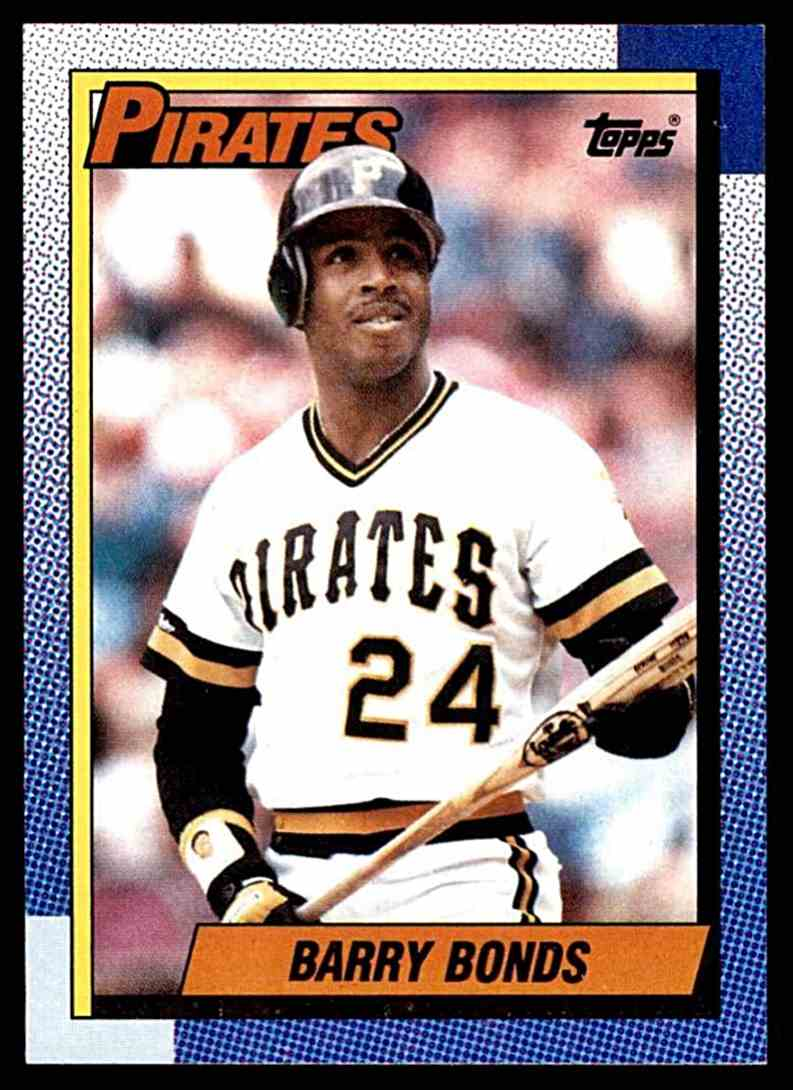 1990 Topps Barry Bonds #220 card front image