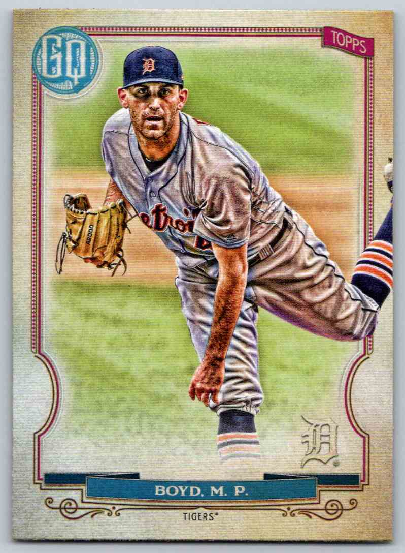 2020 Topps Gypsy Queen Base Matthew Boyd #99 card front image