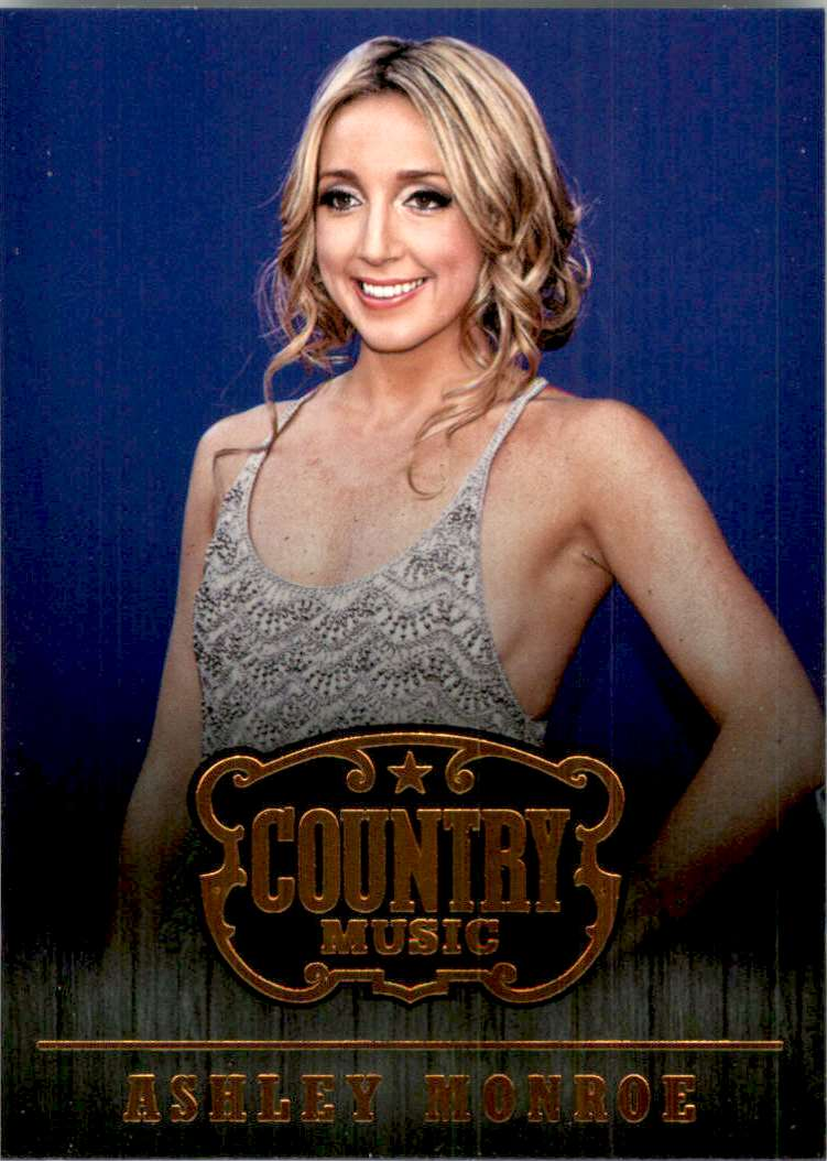 2015 Country Music Retail Ashley Monroe #48 card front image