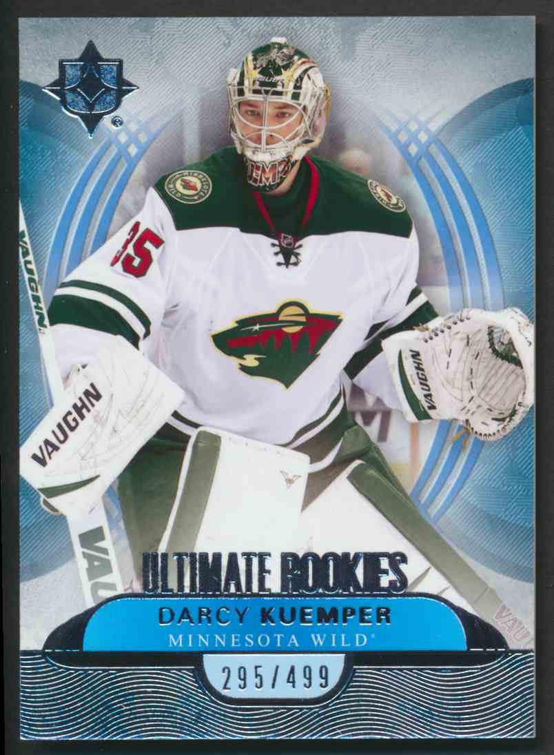 2013-14 Ultimate Collection Darcy Kuemper #64 card front image
