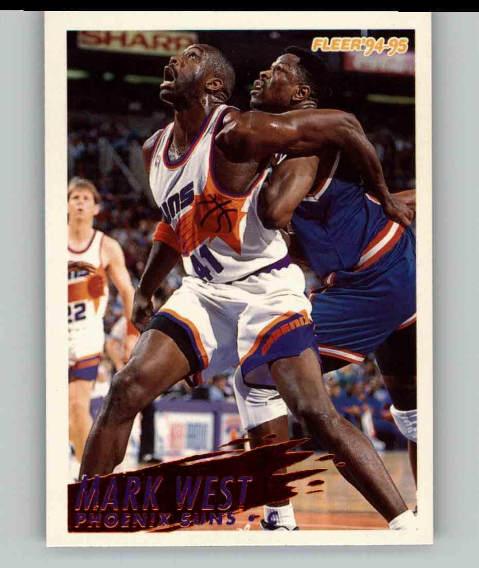 1994-95 Fleer Mark West #182 card front image