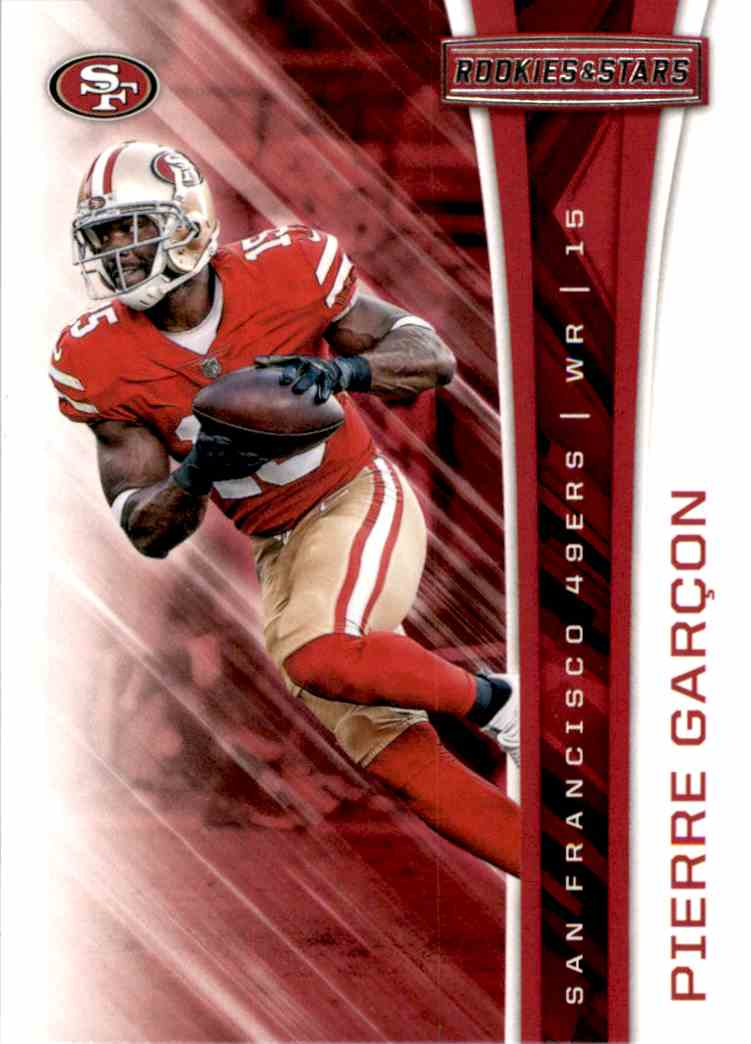 2017 Rookies And Stars Pierre Garcon #12 card front image