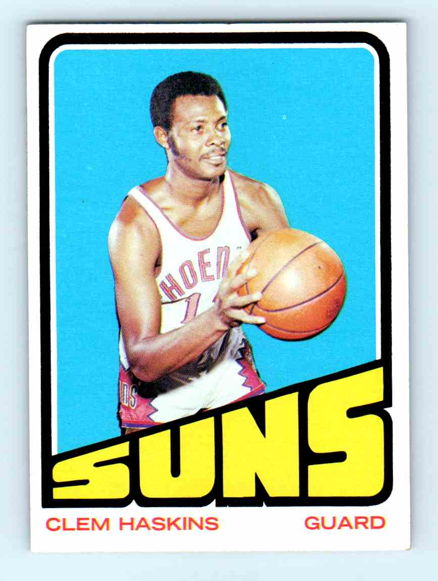 1 Clem Haskins trading cards for sale