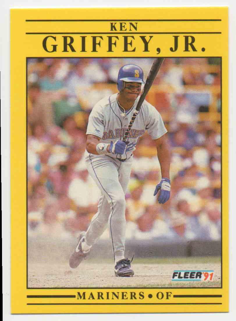 a5b44c98dd 1991 Donruss Ken Griffey JR. #450 card front image