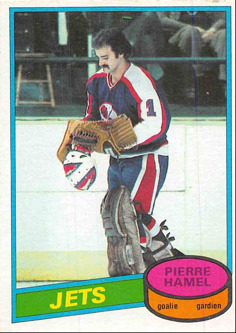 1980-81 O-Pee-Chee Pierre Hamel #205 card front image