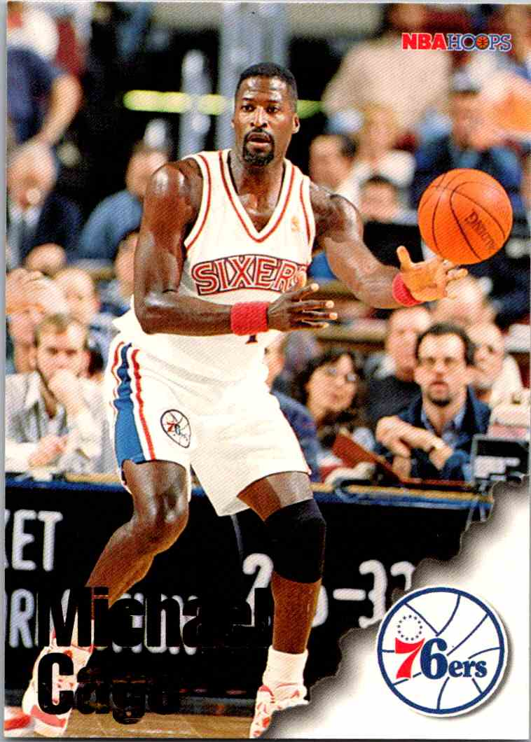 1997-98 NBA Hoops Michael Cage #230 card front image