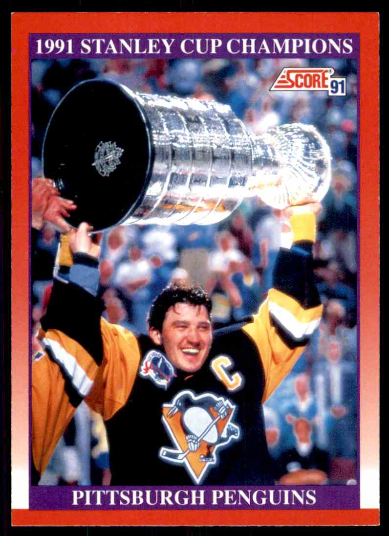 1991 92 Score Stanley Cup Champions 315 Card Front Image